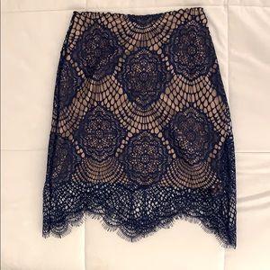 For Love & Lemons Lace Skirt
